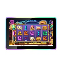 TOPONETECH 23 inch all in one waterproof industrial LCD display touch screen monitor for gambling slot machine