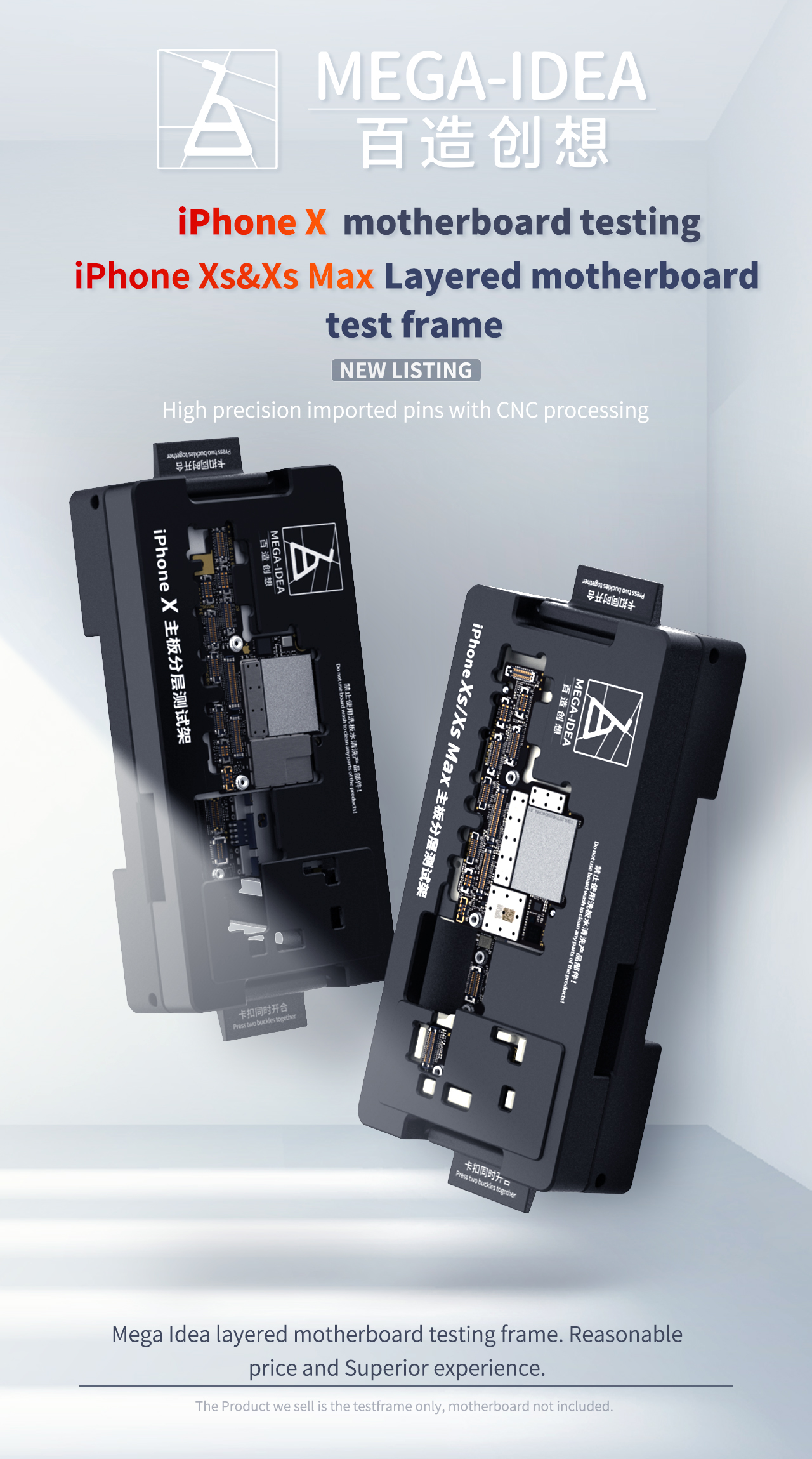 iSocket MEGA-IDEA from QianLi Motherboard Testing Device for iPhone X/XS/XSMAX
