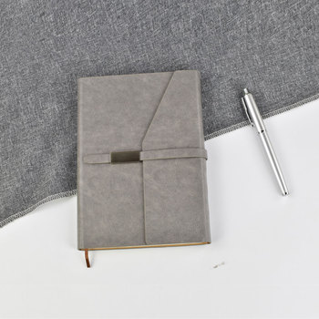 2020 eco promotional pu leather executive corporate notebook business a5