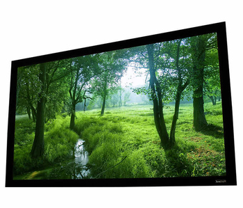 "Fixed Frame Series 133"" Inch Acoustically Transparent Fixed Aluminum Frame Projector Screen Home Theatre HD"