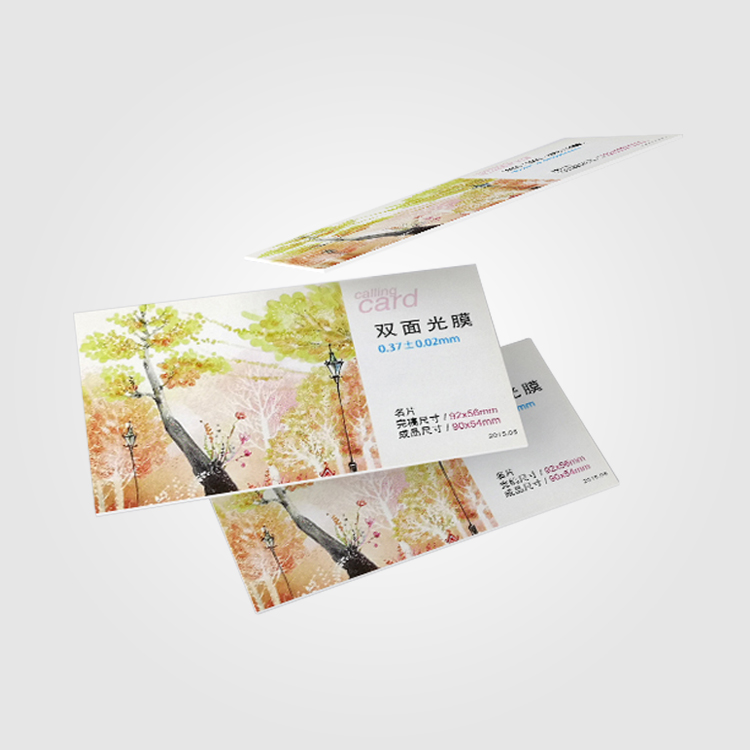 High-end Creative special paper thick business card printing