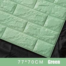 70x77 см PE Foam 3D настенная наклейка s Safty домашний декор Обои DIY Настенный декор кирпичная гостиная детская спальня декоративная наклейка(Китай)