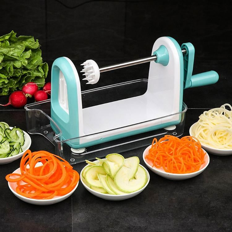 <strong>Vegetable</strong> fruit <strong>spiral</strong> slicer/<strong>vegetable</strong> spiralizer CALJY hand operated <strong>vegetable</strong> <strong>cutter</strong>