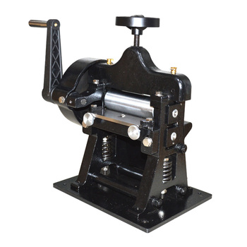 Leather belt crimping machine shovel skin machine hand plant tanning leather splitter thick leather thinning machine 1pc