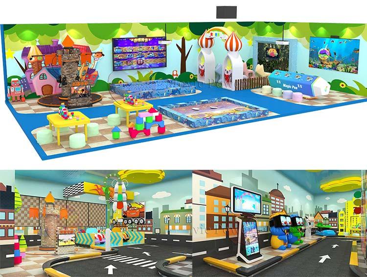 ธุรกิจใหม่ไอเดียเด็กสนามเด็กเล่นในร่ม 7D โฮโลแกรมโปรเจคเตอร์สำหรับ Shopping Mall ได้รับเงิน
