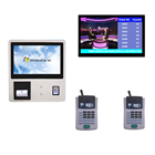Bank/Hospital/Clinic Service Center Wireless Queue Management System with Wall Mount Ticket Dispenser