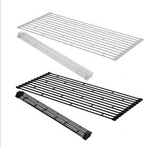 OEM 551-48 kitchen over sink roll-up drying rack for dish bowl chopsticks