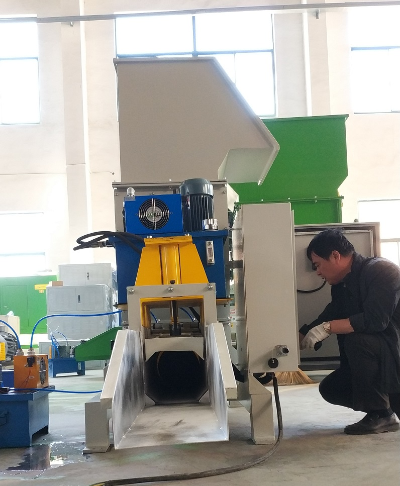 Automatic EPS compactor CF-CP250 from Chinafor Qinfeng