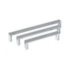 Hot design square handles furniture zinc alloy metal cabinet pull handles for steel doors