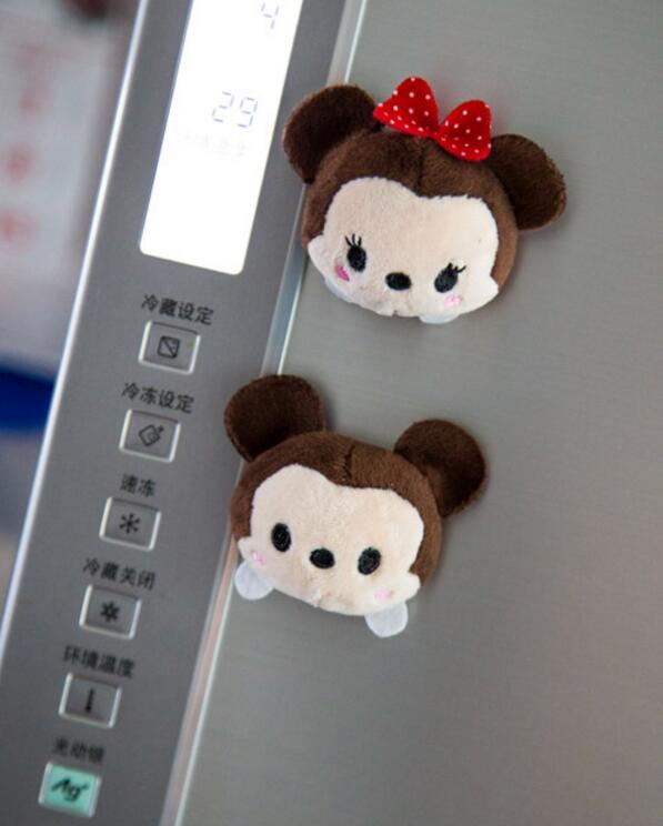 Мультфильм милый медведь магниты на холодильник стикер Rilakkuma сообщение клип семья инструмент мягкие плюшевые игрушки подарок девочки дети ...(Китай)