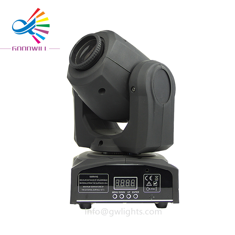 Gobo 30 w Led Moving Head Spot Mini Luce Della Fase