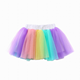Baby Kid Girls rainbow color Dresses Cute Princess Party Tutu Dresses