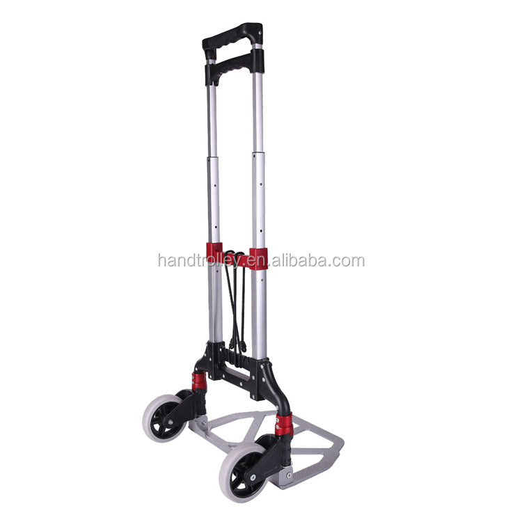 Two-wheel 70 Kgs lightweight aluminum foldable hand trolley for sale