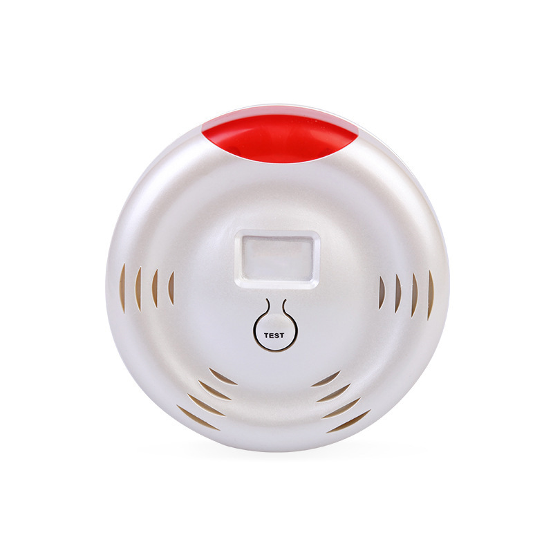 New Arrival Multi-functional Detector with <strong>Alarm</strong> on Tuya app Alcohol Smoke detector with USB cable