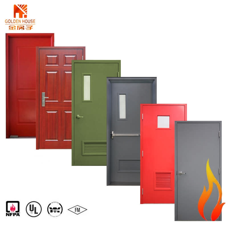 180 mins WHI UL listed steel fire rated <strong>doors</strong> with finished painting