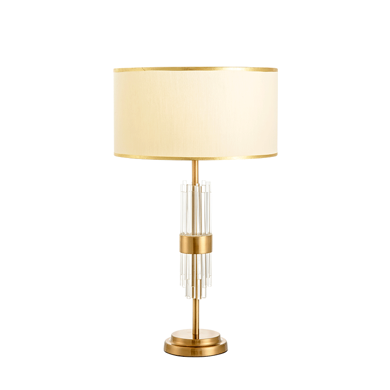 Modern water pipe <strong>spiral</strong> led table <strong>lamp</strong> hote guestroom luxury crystal led table <strong>lamp</strong>