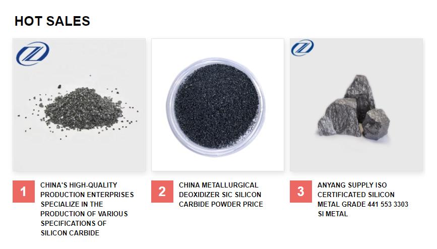Qualité prix direct usine de carbure de silicium