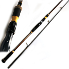 Fast spinning 2.70m 15-50g 2 sections carbon spinning sea bass fishing rod
