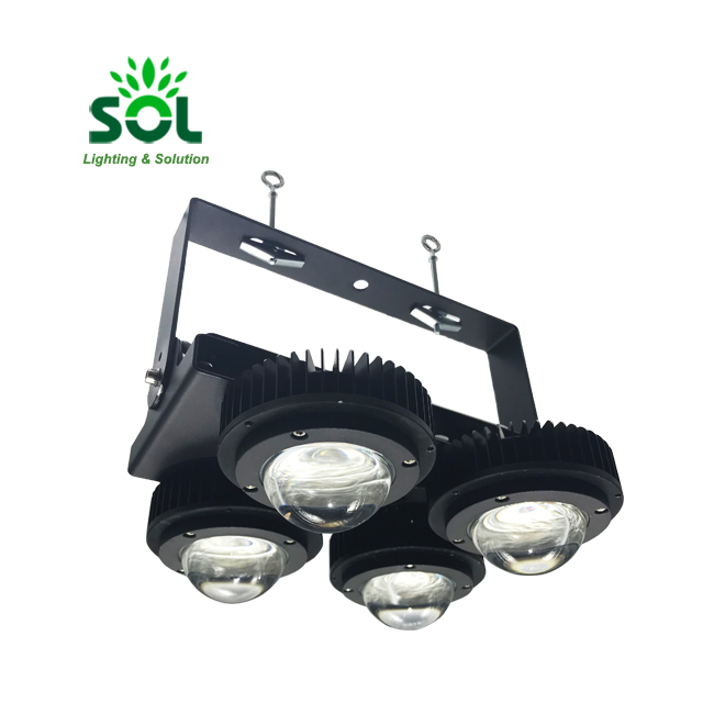 Waterproof IP68 160W 160lm/w SMD 3030 LED Flood Light With Driver