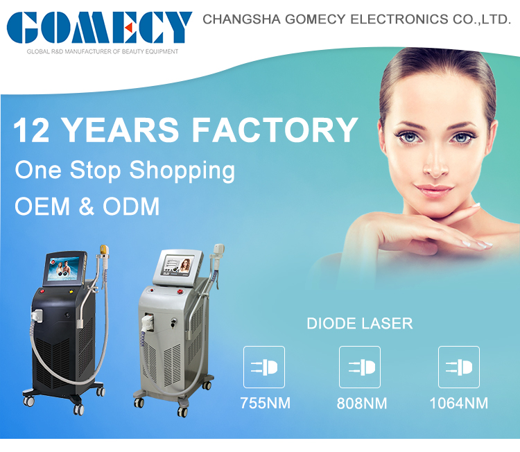 GOMECY Alma equivalent soprano ice laser machine for beauty salon equipment hair removing professional machine