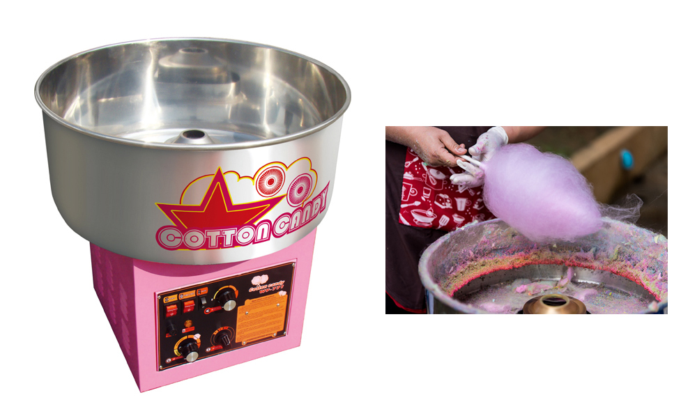 China Commercial Electric Cotton Candy Machine
