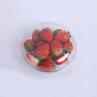 Pet Plastic Container Salad Bowl Fruit Packaging Food Clamshell