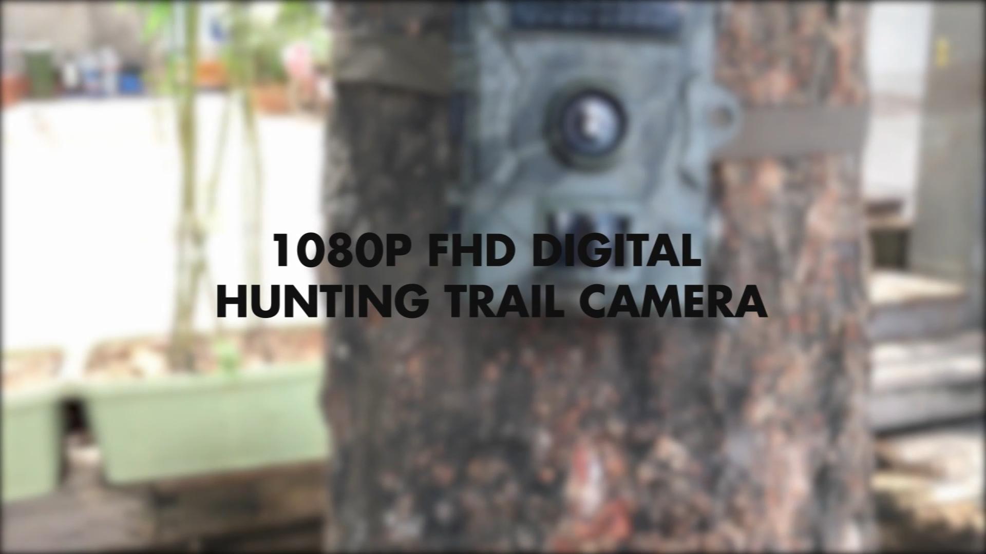 2020 nueva cámara de seguridad de infrarrojos al aire libre batería noche visión rastro Digital cámara de caza