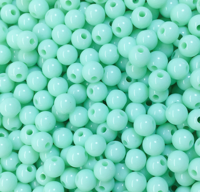 6mm-20mm Multi Colours acrylic beads with holes