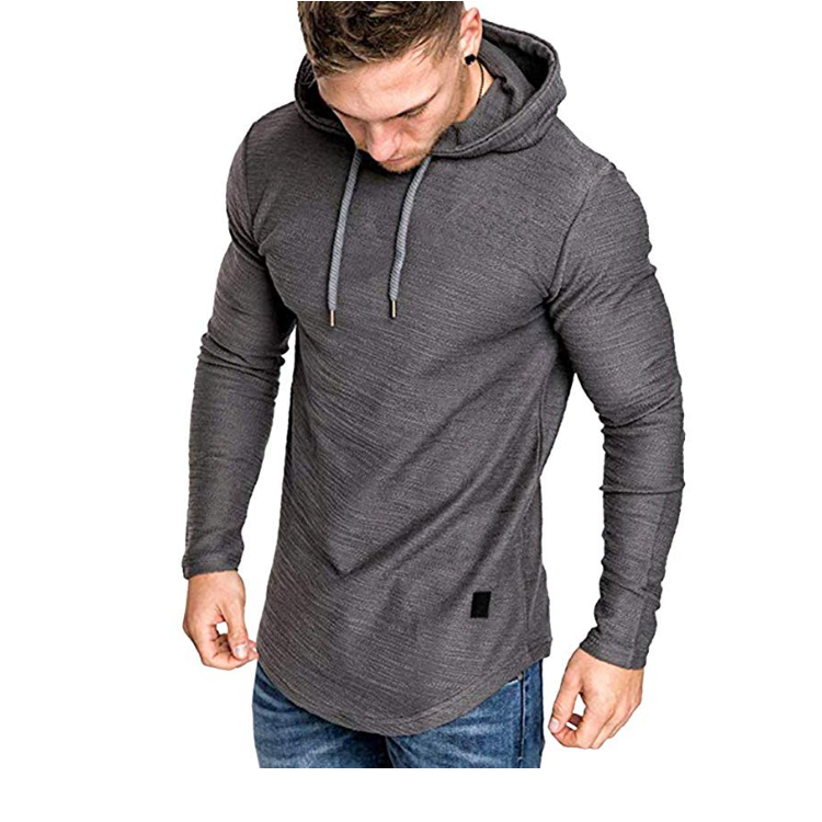 AGRADECIDO <strong>Mens</strong> Fashion Sport Sweatshirt Fleece Pullovers For <strong>Men</strong> Solid Color Athletic Hoodie