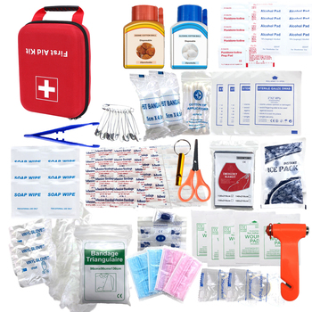 Hard case car first aid kit emergency first aid kit home first aid kit for home outdoor car
