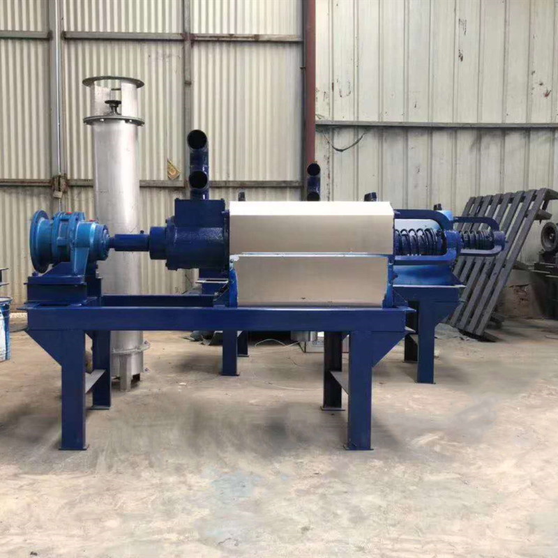 Centrifuge Biogas Slurry Machine Animal Cow Manure Dehydrator