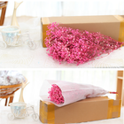 Wholesale colorful DIY long life Eternal Babysbreath gypsophila preserved dried decorative artificial flowers for wedding