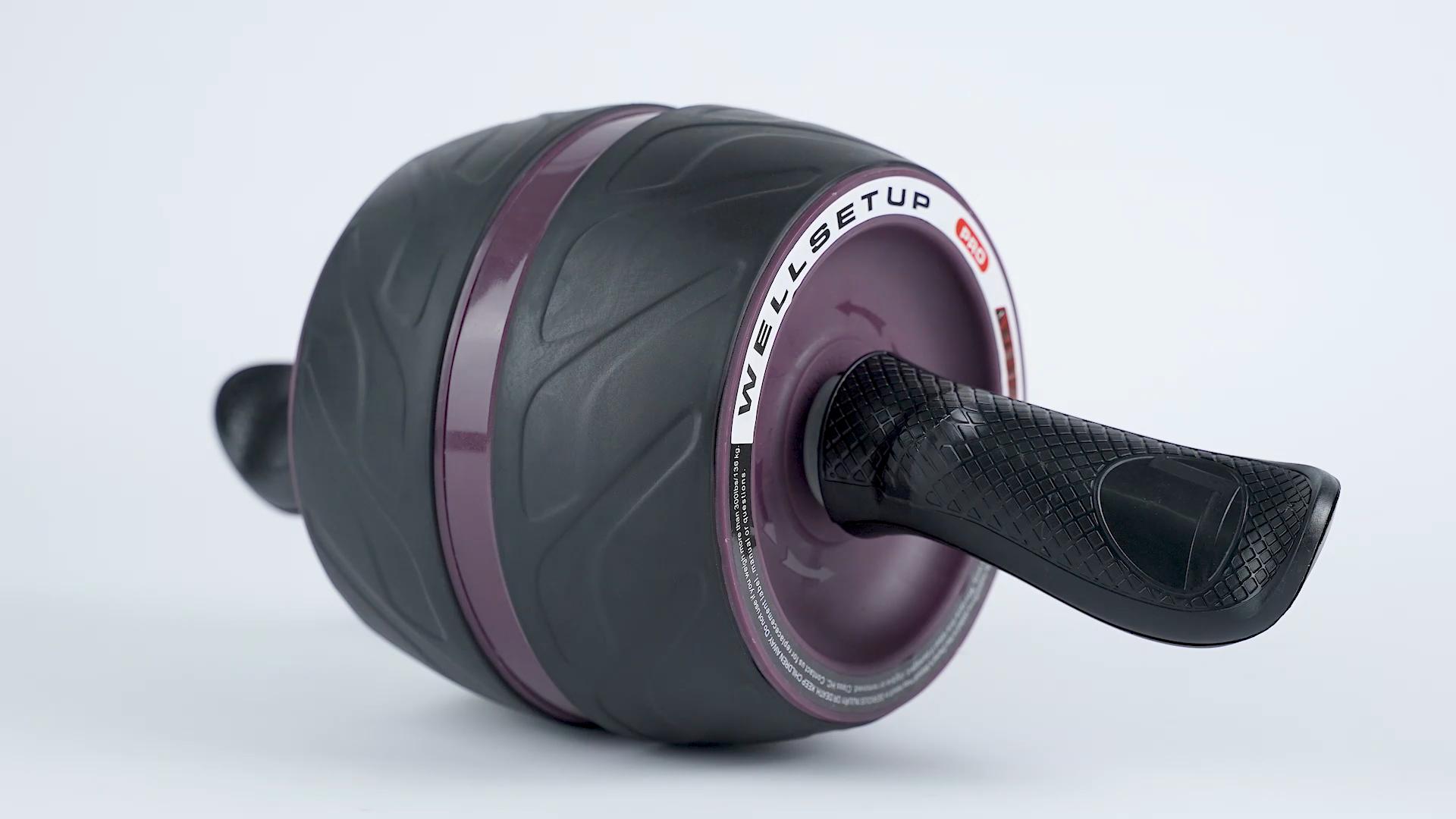 AB Roller esercizio ruota di scorrimento set kit con il ginocchio pad mat