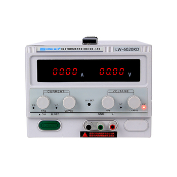 Longwei Factory LW-6020KD 60V 20A High Power Dc Power Supply 60V 20A Lab Bench Dc Variable Power Supply Plating