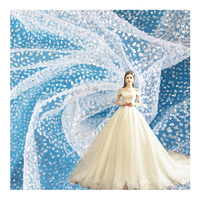 Fashion Super Shinny Glitter Sparkle Bridal Tulle Mesh