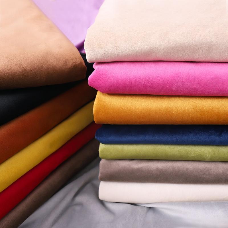 Tissu de velours À La Main Textile À La Maison confortable tissu pour BRICOLAGE meubles de canapé et sac souple