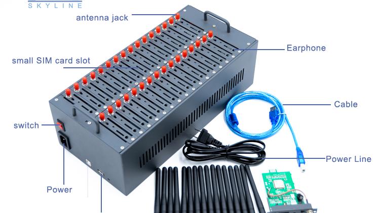 مودم wavecom usb gsm الأكثر مبيعًا بخصم 15% على 32 منفذًا 2g/3g/4g مجمع مودم الرسائل القصيرة بالجملة