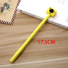 Корейские креативные гелевые ручки для камеры, канцелярские товары, Милая Черная нейтральная ручка, офисные и школьные принадлежности(Китай)