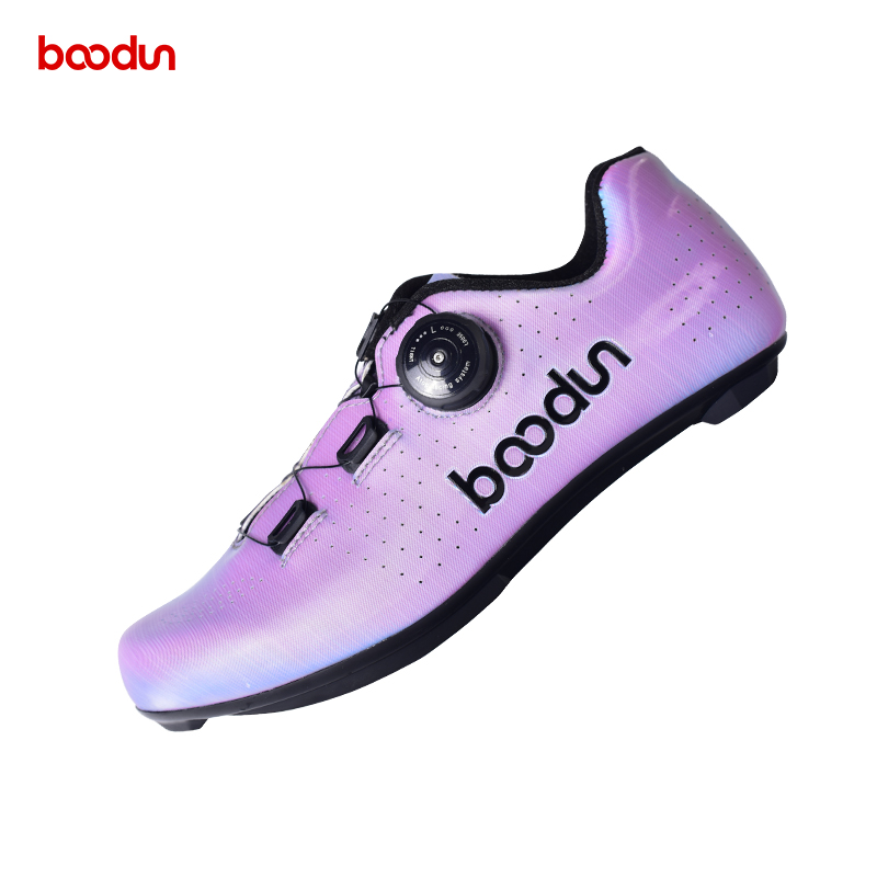 Factory supply custom design sport shoes Breathable Mountain Shoes Fashion colorful Road Cycling Riding Shoes