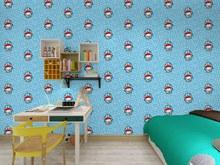 Самоклеющиеся водонепроницаемые 3d обои для детской комнаты с изображением животных(Китай)
