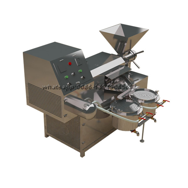 Baobab Hemp Ground Nut Guava Seed Screw Press Oil Extruder Mill Extraction Production Machine