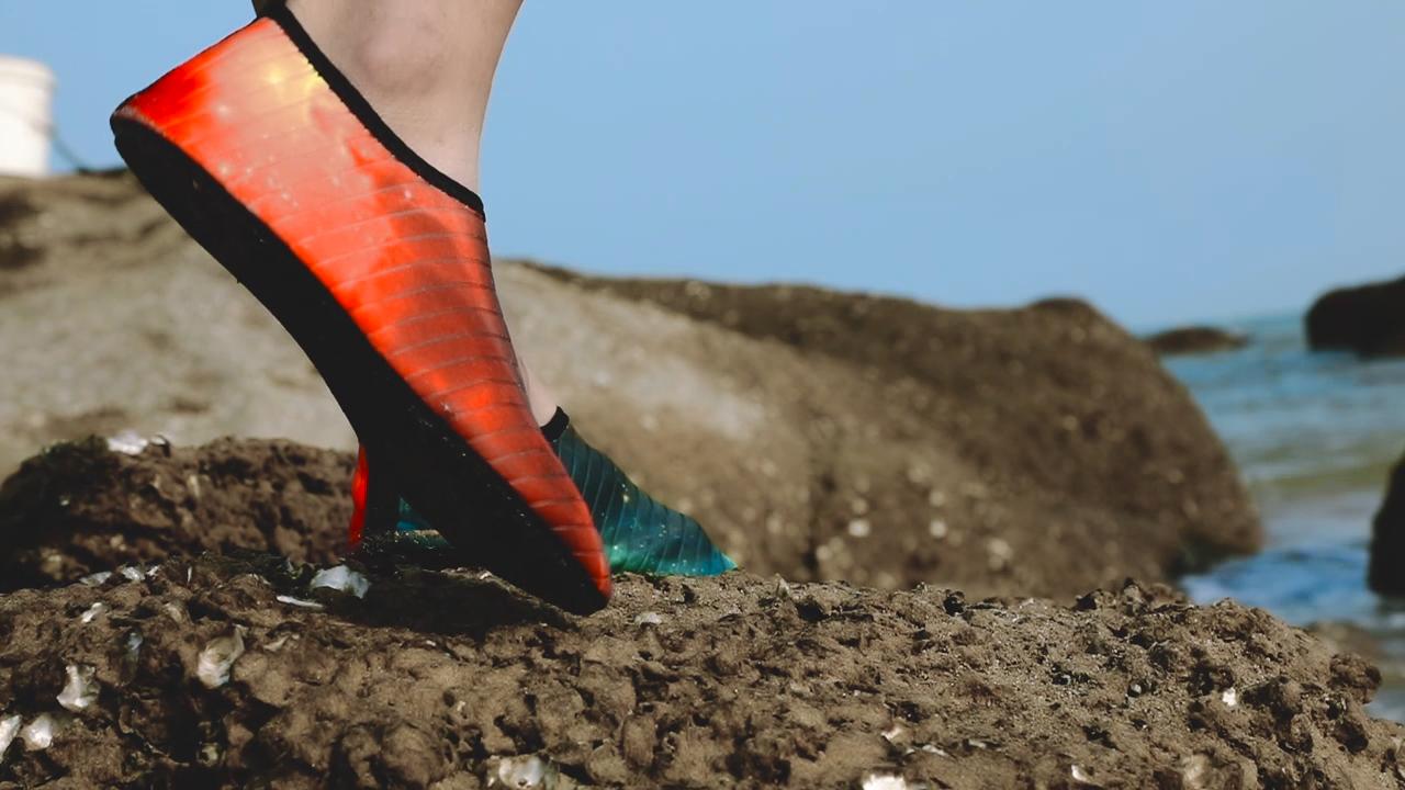 Peau-Chaussette Aqua-Chaussures de Natation-Slipperh Hommes pour Homme Camping Montagne-Pataugeoire