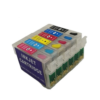 good quality printer ink cartridge  inkjet cartridge T0821 refill Ink Cartridge for epson T50/T59/R2