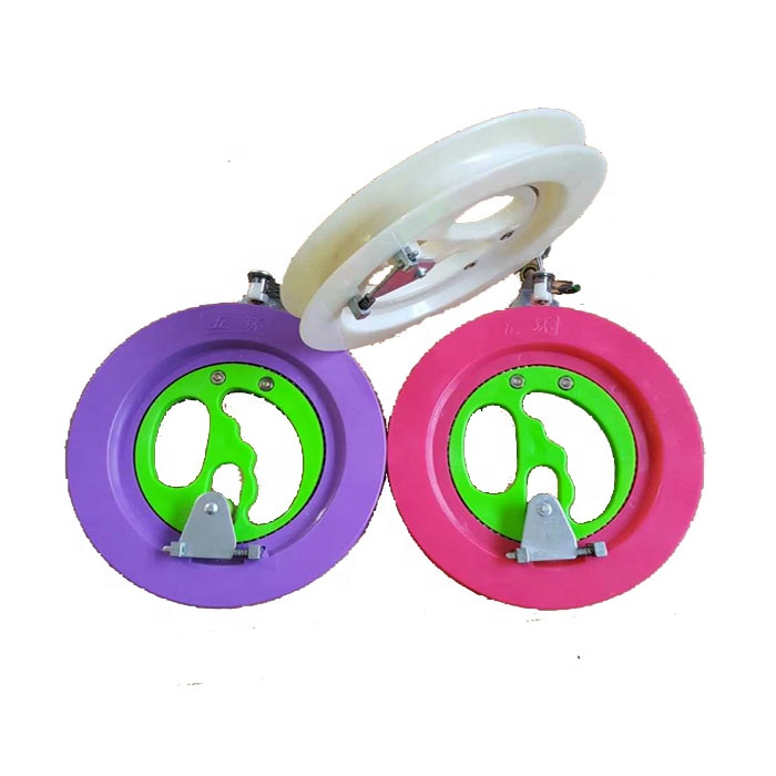 Wholesale diameter 22cm Kite wheel with 350m thread from the factory