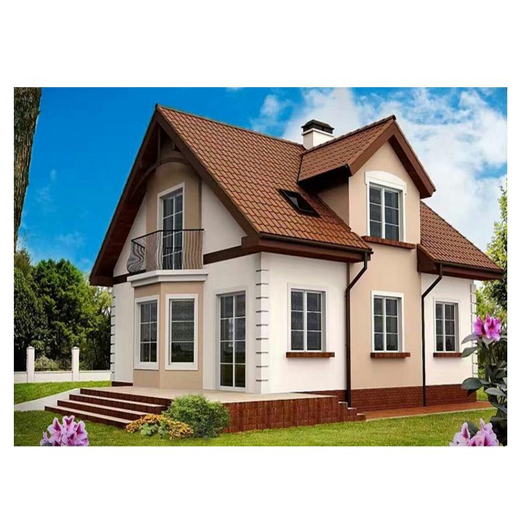 Prefabrique Maison Villa Moderne/شاليه كيت Chine/الجاهزة المنزل