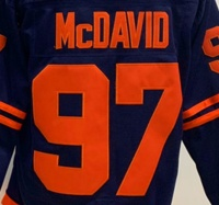Edmonton Connor McDavid Best Quality Stitched National Hockey Jersey