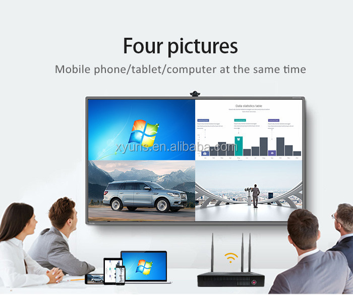 Wireless Display VGA Box  Miracast Dual-band 5G Allshare cast dongle for OEM order