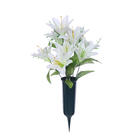 Decorative Flowers Wreaths Flower Artificial Cemetery Artificial Flower for Cemetery Flower for Cemetery Wholesale Various Colors Available