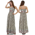 China Factory Private Label Sleeveless Casual Long Women Maxi Dress Vestidos Dresses Summer