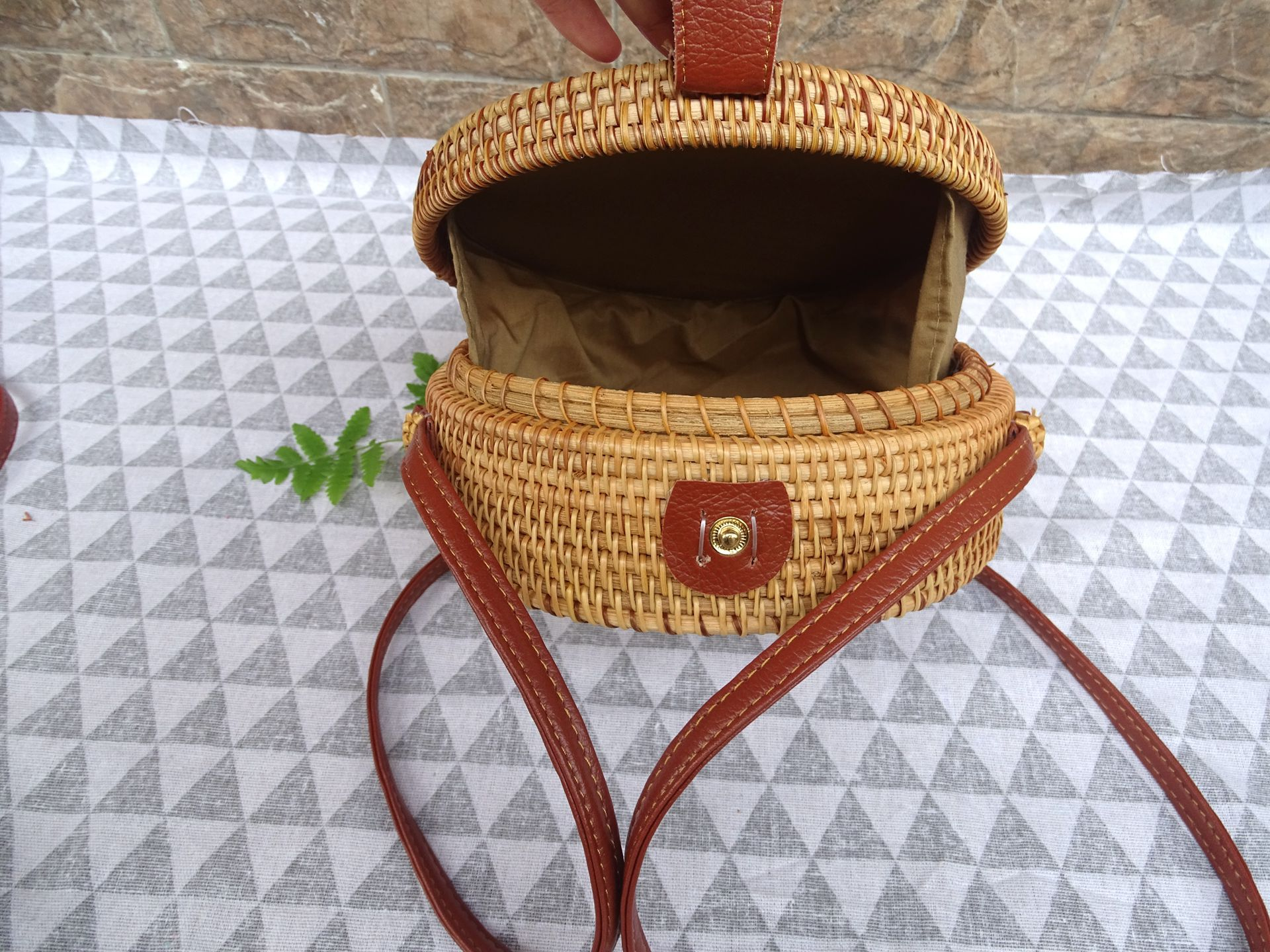 fashion woven beach bag angedanlia on sale for summer-4
